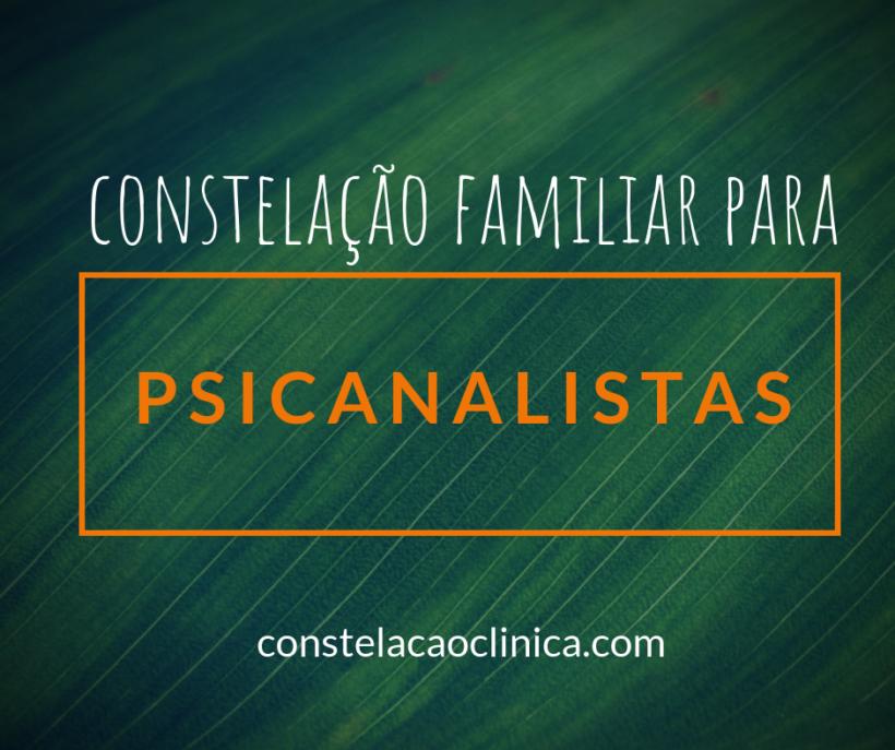 constelação familiar para psicanalistas