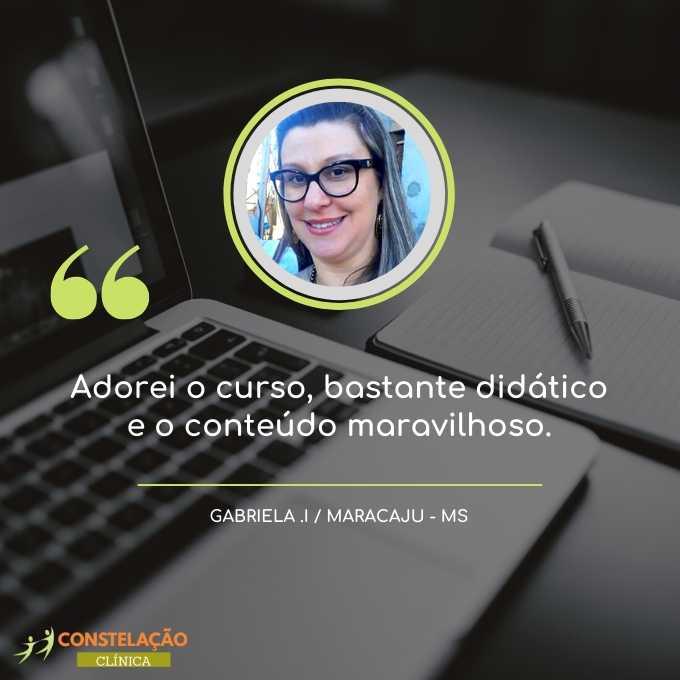 depoimento curso constelação familiar gabriela maracaju ms