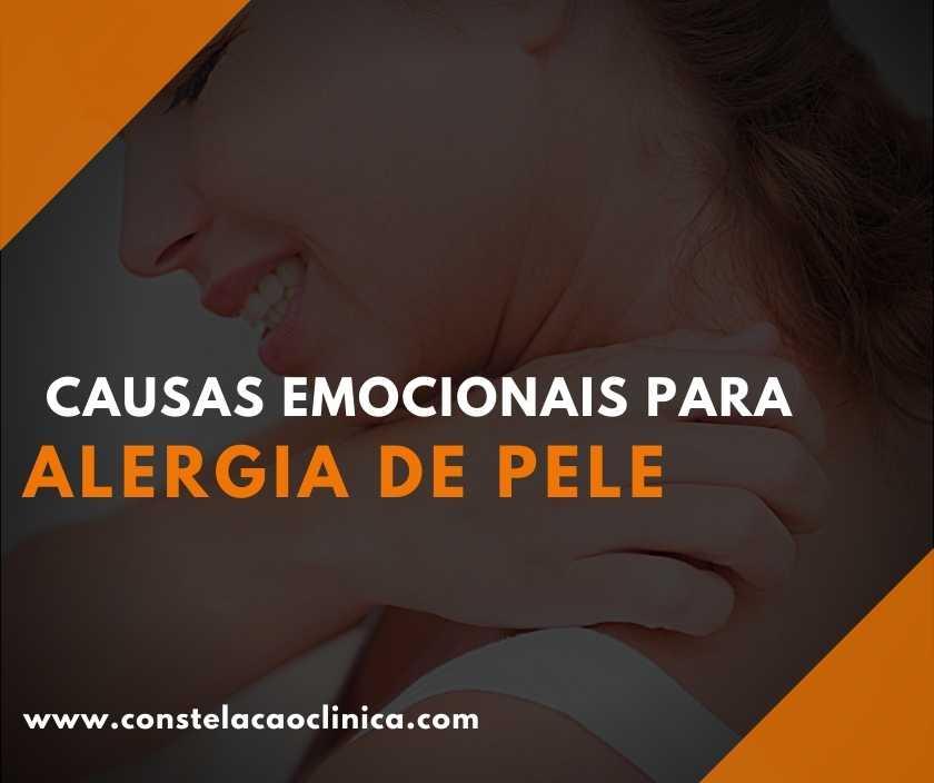 causas da alergia de pele