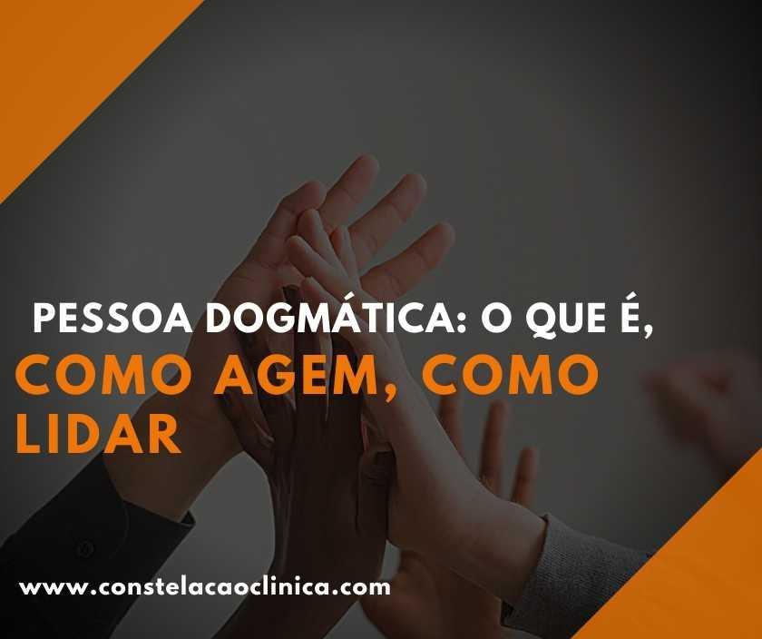 pessoas dogmáticas