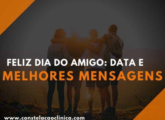 Feliz Dia do Amigo! 20 de julho é comemorado o dia do amigo no Brasil. Por isso, confira as 20 melhores mensagens para comemorar essa data.